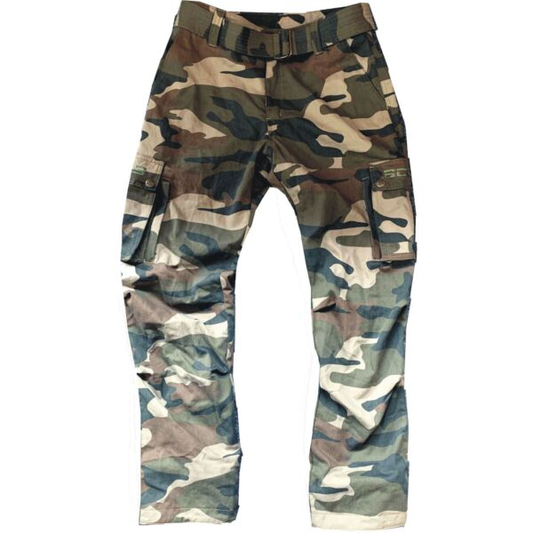 Bores Siggle 2 - Motorradhose wasserabweisend - Army Camouflage - Wachshose Unisex - BorteXX Aramid
