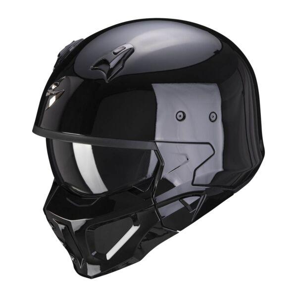 Scorpion Integral Helm COVERT-X Solid Schwarz XS-2XL