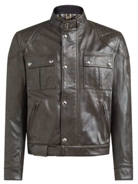 Belstaff Bookland Blouson Leather, Motorrad Lederjacke