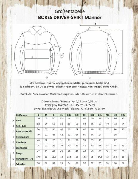 Bores Driver-Shirt - MESH Motorradhemd - schwarz - BorteXX Aramid
