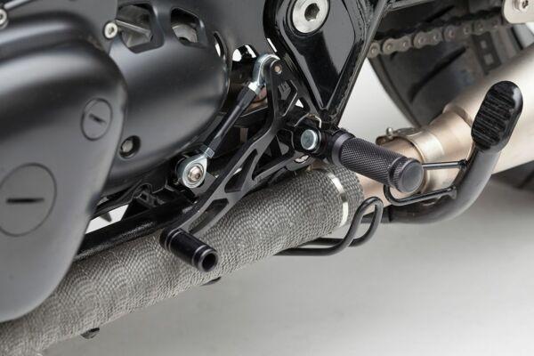 LSL Rastenanlage Kawasaki W800 Midi, schwarz (Stück)