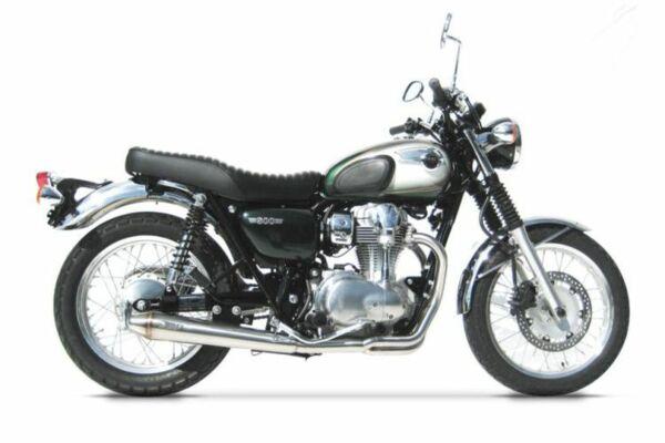 ZARD-Komplettanlage Kawasaki W 800 konisch rund Full Kit 2-1 (Stück)