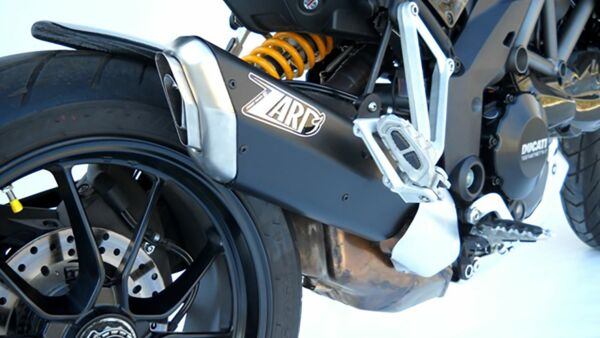 ZARD-PENTA- Auspuff Ducati Mulitistrada 1200, Alu black 2-1 (Stück)