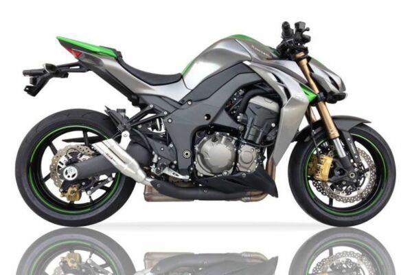 IXIL Hyperlow Edelstahl Auspuff Kawasaki Z 1000, 17-, Z 1000 SX, 17- (Euro4) (Paar)