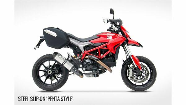 ZARD-PENTA- Auspuff -Ducati Hypermotard 821, 13- (Stück)