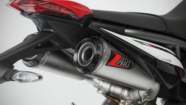ZARD Top Gun 2-2 Slip on Auspuffanlage DUCATI Hypermotard 950/SP, 19- (Stück)