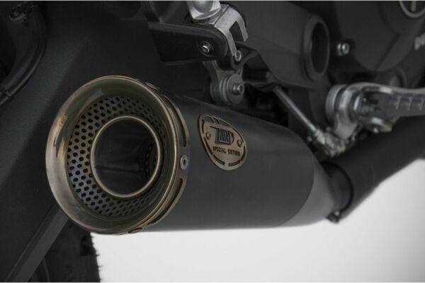 ZARD Edelstahl Auspuff Zuma Ducati Scrambler 800, 17- (Euro4) (Stück)