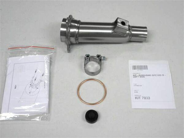 IXIL Adapterrohr Kawasaki GPZ 500 S, links (Stück)