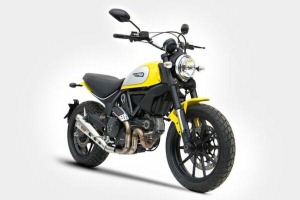 ZARD Auspuff Special Edition Ducati Scrambler 800, 17- (Euro4) (Stück)
