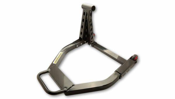 motoprofessional Einarm-Montageständer Aluminium Hinterrad links schwarz (Stück)