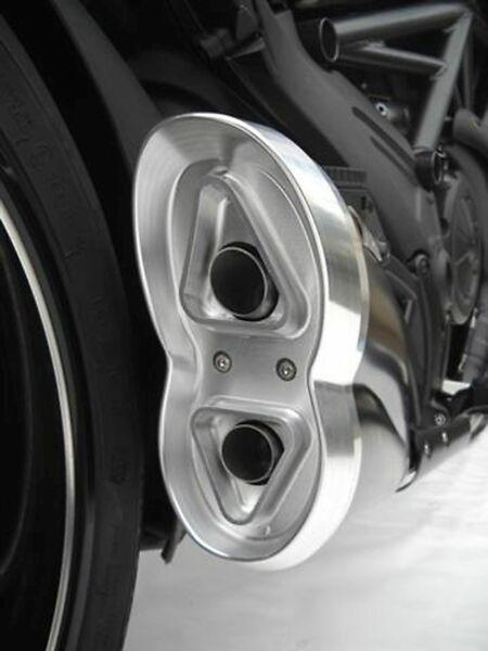 ZARD- Auspuff Ducati Diavel, schwarz, Kat. (Stück)