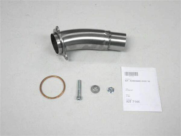 IXIL-Adapterrohr Kawasaki ZX 6 R, 09-14, ersetzt die Originaldämpferbox (Stück)