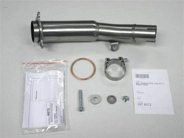 IXIL Adapterrohr Honda VTR 1000 SP2, rechte Seite (Stück)