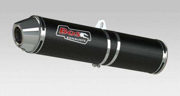 BOS Auspuff Carbon-Steel Honda CBR 500 R, 13- (Stück)