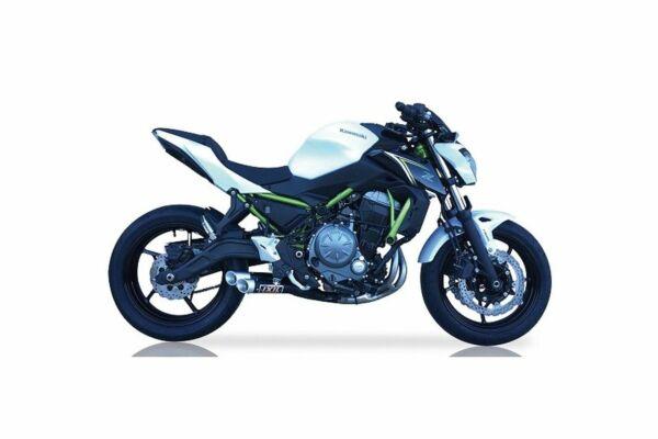 IXIL Hyperlow black XL Edelstahl Komplettanlage Kawasaki Z 650, 17- (Euro4) (Stück)