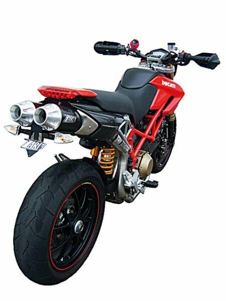 ZARD- Auspuff Top Gun-Ducati Hypermotard 796/1100 (Stück)