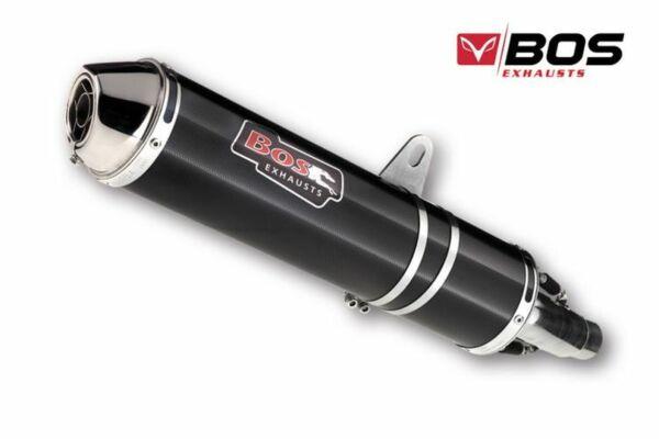 BOS Auspuff Carbon-Steel Kawasaki ZRX 1100, 96-00 (Stück)