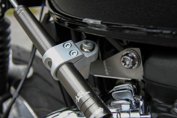 LSL Lenkungsdämpfer Kit Triumph Thruxton 16-, schwarz (Set)
