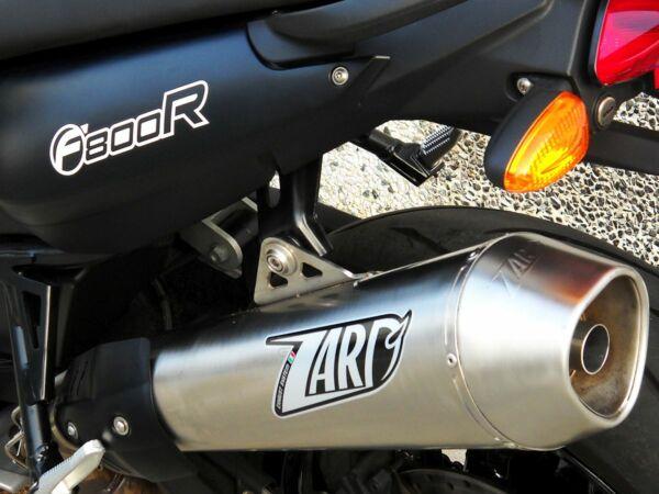 ZARD- Auspuff BMW F 800 R, satin, + Kat. (Stück)