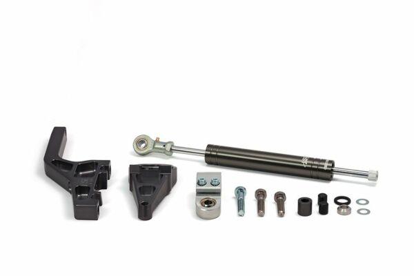 LSL Lenkungsdämpfer Kit Kawasaki ZX-10R/ZX6, 06-, titan (Set)