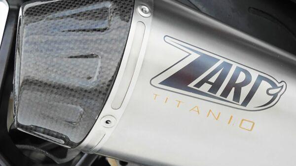 ZARD- Auspuff Triumph Speed Triple 1050, 11, Titan 3-1 (Stück)