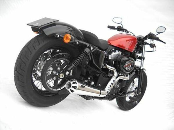 ZARD-Komplett-Harley Davidson Sportster, 04-13, poliert, + Kat. (Stück)