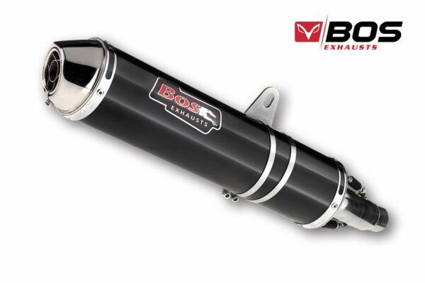 BOS Auspuff Carbon-Steel Hyper RR Suzuki GSF 600 Bandit, 96-04 (Stück)