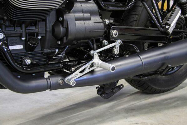 LSL Rastenanlage Moto Guzzi V9 Bobber/Roamer 16-, silber (Stück)