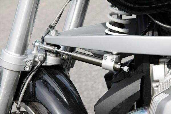 LSL Lenkungsdämpfer Kit BMW R1200R 11- (R1ST), titan (Set)