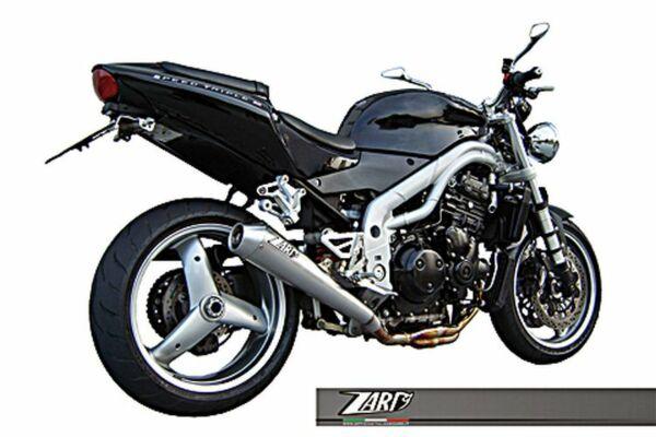 ZARD- Auspuff Triumph Speed Triple, 02-04, Edelstahl (Stück)