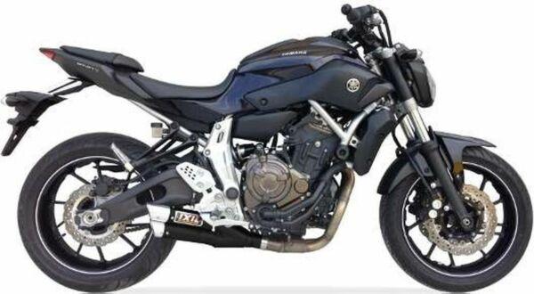 IXIL Hyperlow black XL Edelstahl Komplettanlage Yamaha MT-07, 17-, XSR 700, 17- (Euro4) (Stück)