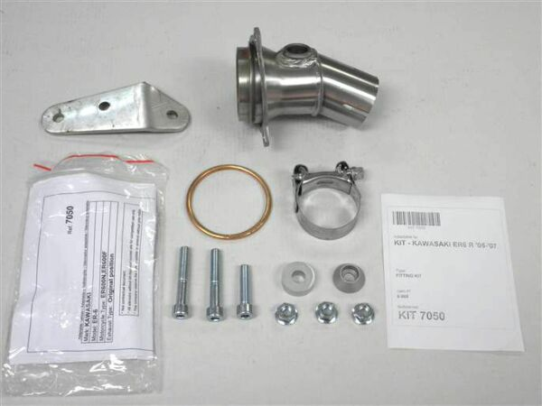 IXIL Adapterrohr Kawasaki ER 6, 05-11, Versys 650, 06-14 (Stück)
