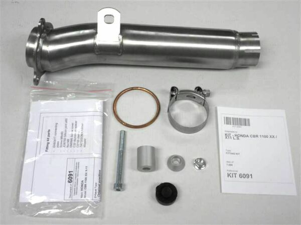 IXIL-Adapterrohr Honda CBR 1000 RR, 04-07 (Stück)