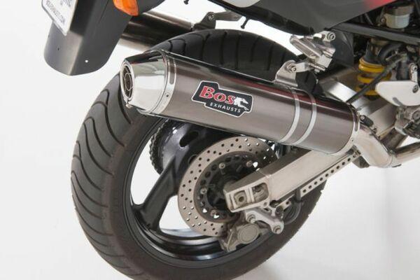 BOS Auspuff Carbon-Steel Yamaha TRX 850 (Paar)