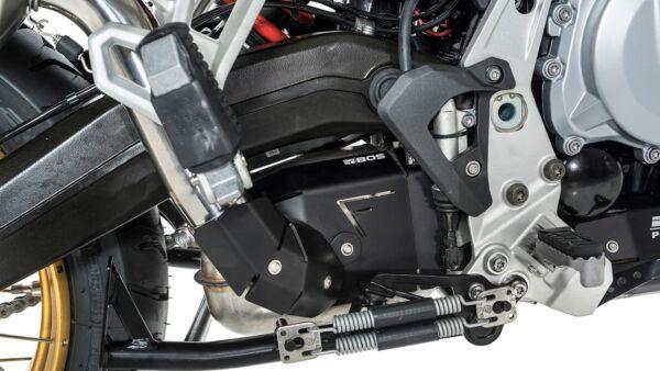 BOS Heat Shield Kit Alu Black BMW F 750 GS / F 850 GS (Stück)