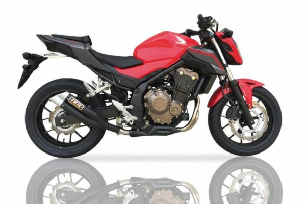 IXIL Hyperlow black XL Edelstahl Auspuff Honda CBR 500 R / CB 500 F,16- (Euro4) (Stück)