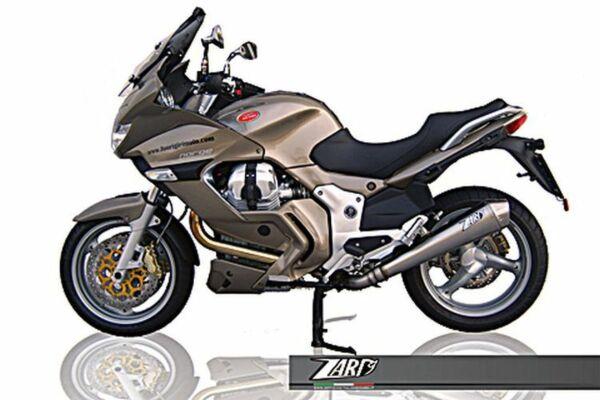 ZARD- Auspuff Moto Guzzi Norge 1200, Edelstahl, + Kat. (Stück)
