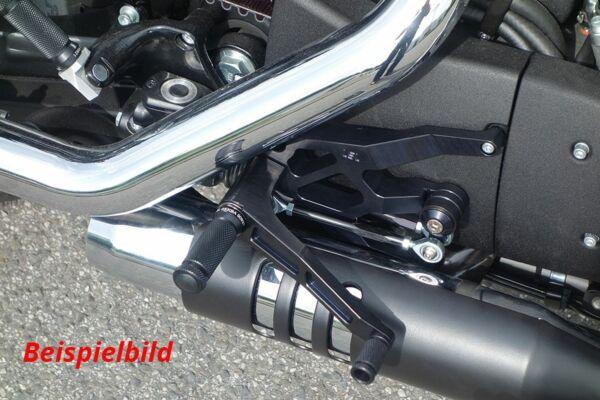 LSL Rastenanlage Harley Davidson Forty-Eight, schwarz (Stück)