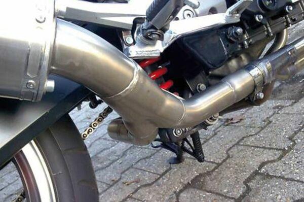 IXIL Adapterrohr Kawasaki Z 1000, 03-06, Einrohrvariante rechte Seite (Stück)